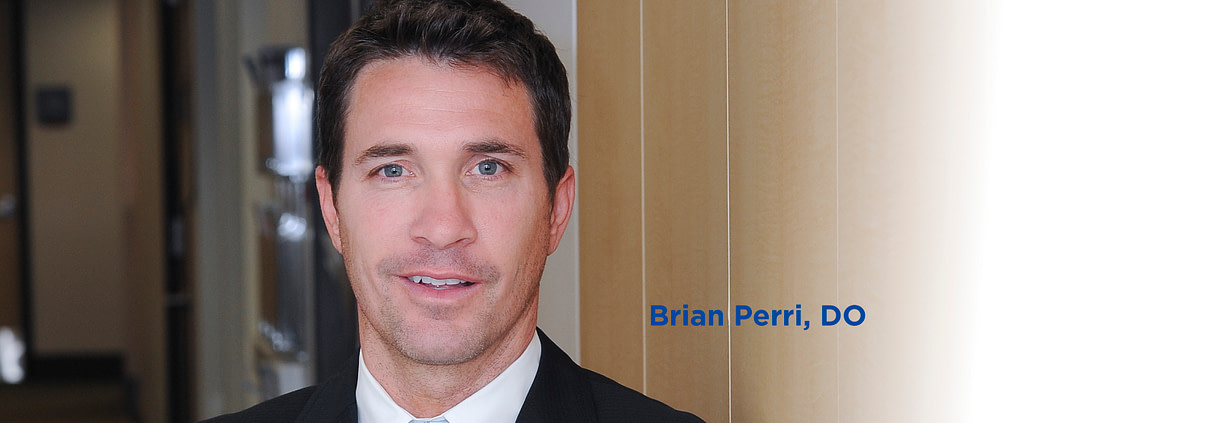 Headshot of doctor Brian Perri